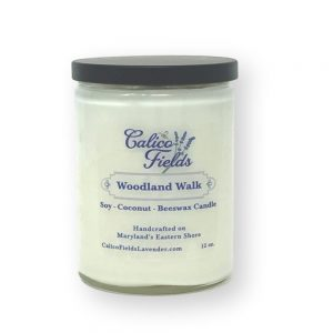 Soy coconut candle