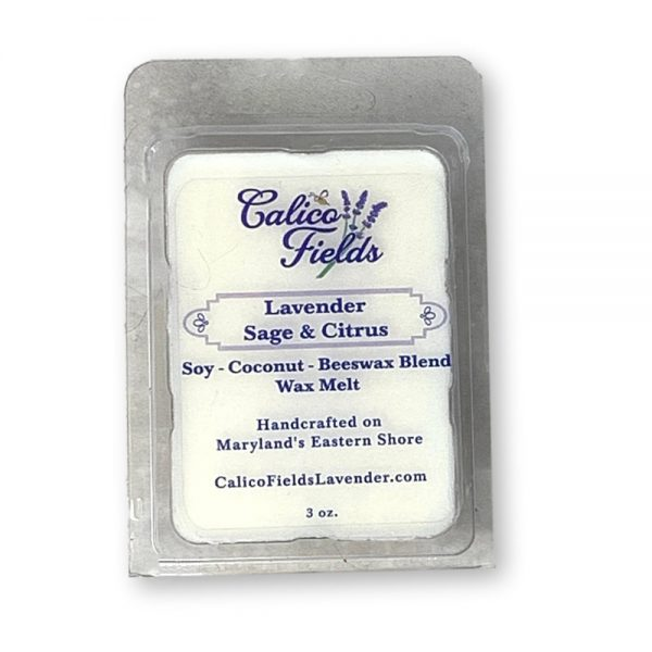 Sage Citrus Scented Candle Wax Melts
